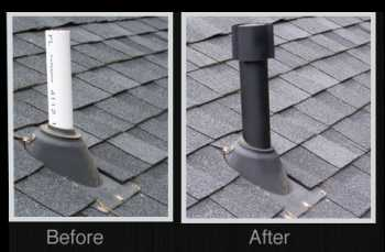Cover Existing PVC Roof Vent Plumbing Pipes For Protection And A Finished  Look For Your Home With A Johnny Cap